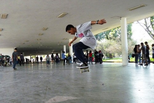 Skate no Ibirapuera (Andréia Reis)