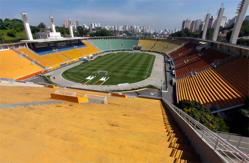 Estádio do Pacaembu (Google Street View)