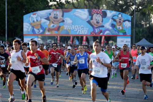 Largada da Disney Magic Run-2015 (Disney/Divulgação)