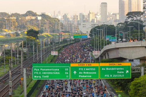 Run the Bridge-2017 na maginal do Pinheiros (Iguana Sports)