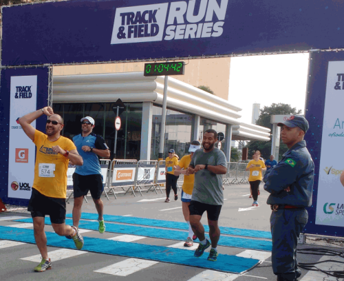 Chegada da etapa do Center Norte do Track&Field Run Series (Esportividade)