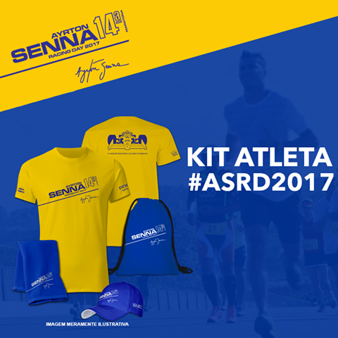 Kit do Ayrton Senna Racing Day de 2017