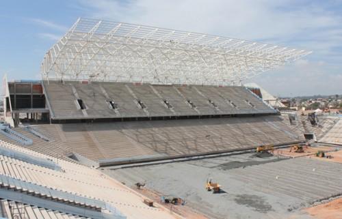 Arena Corinthians em maio (Marcos Favari/Odebrecht)