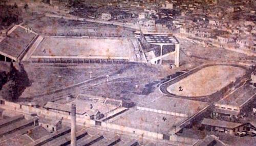 Imagem panorâmica do estádio em 1936 (Divulgação)