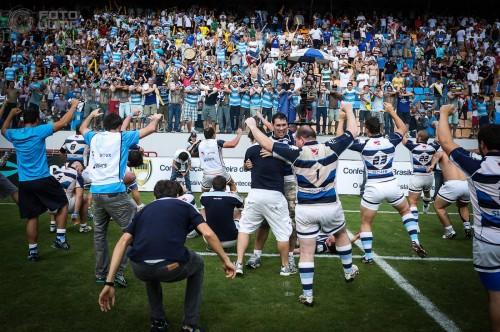 SPAC comemora o título na Arena Barueri (Luiz Pires/FOTOJUMP)