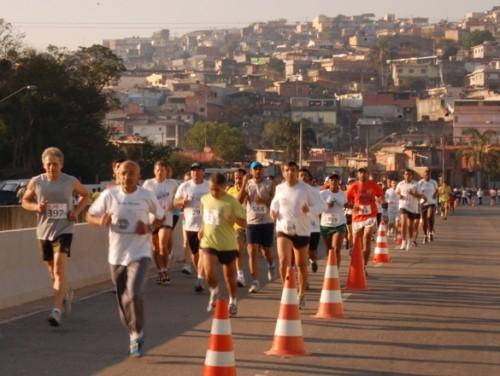 Prova do Circuito Popular de corrida de rua de São Paulo (Divulgação)