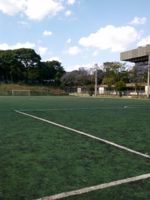 Campo de futebol do Centro Olímpico (Andrei Spinassé/Esportividade)