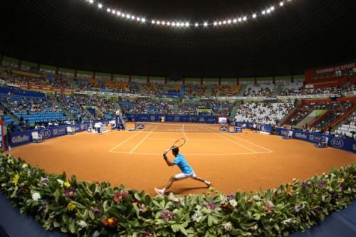 Ginásio do Ibirapuera, quadra central do Brasil Open (Brasil Open/Inovafoto)