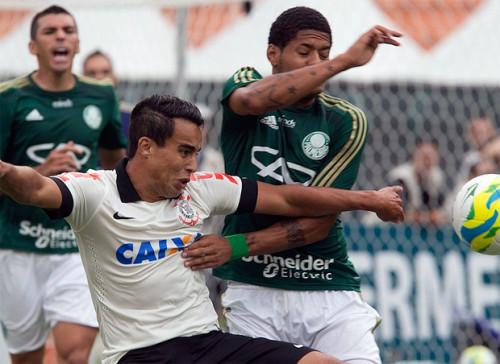 Corinthians x Palmeiras no Pacaembu, jogo do Paulista-2014 (Daniel Augusto Jr/Agência Corinthians)