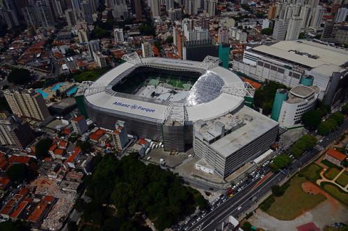 Allianz Parque se preparando para show (WTorre/Divulgação)