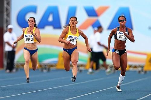 Ana Claudia Lemos vence os 100 m (Wagner Carmo/CBAt)