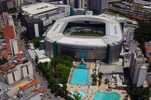 Allianz Parque (WTorre/Divulgação)