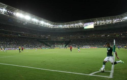 O Palmeiras foi derrotado por 2 a 0 pelo Sport (Cesar Greco/Ag. Palmeiras)