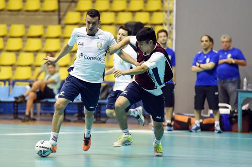 Treino da seleção de futsal em São Bernardo do Campo (Gaspar Nóbrega)