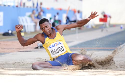 Mauro Vinicius Duda da Silva, do salto em distância (Wagner Carmo/CBAt)