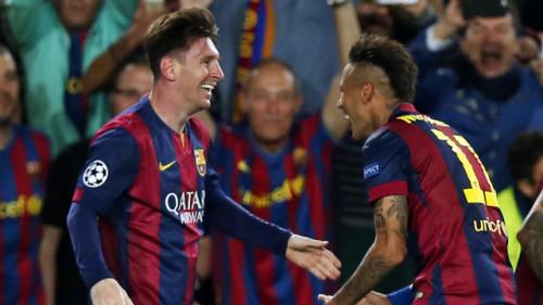 Messi e Neymar, atacantes do Barcelona (Miguel Ruiz/FCB)