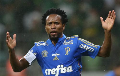 Zé Roberto, meia/lateral do Palmeiras (Cesar Greco/Ag Palmeiras/Divulgação)
