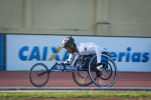 Atleta paraolímpico brasileiro (CPB/Divulgação)
