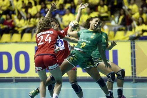 Brasil x Noruega da sexta-feira (Bruno Miani/Photo&Grafia)