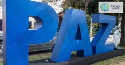 Palavras gigantes já estão nas ruas da cidade (Divulgação)