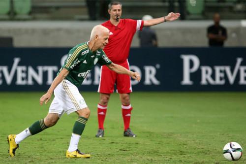 Ademir da Guia jogou no Allianz Parque em 2014 (Fabio Menotti/Ag Palmeiras/Divulgação)