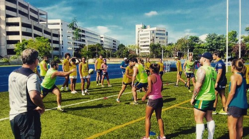Rugby no NAR (Núcleo de Alto Rendimento de São Paulo)