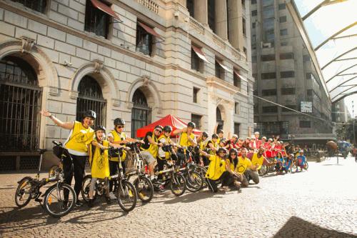 Bike Tour SP no centro paulistano (Divulgação)