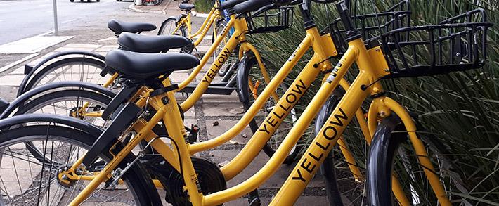 Após decisão da empresa Grow, bicicletas Yellow somem das ruas de São Paulo