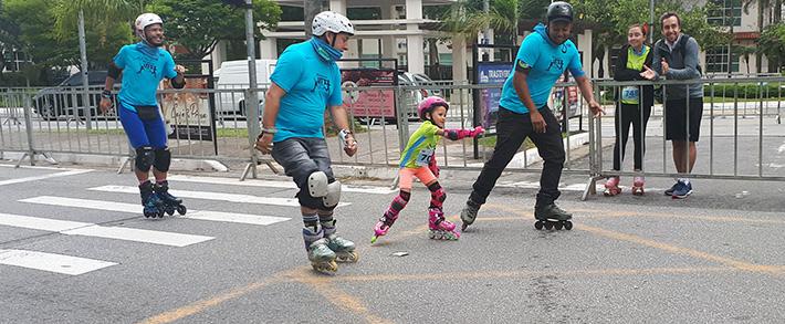 Alemão campeão mundial participa de prova em São Bernardo do Campo e inspira crianças